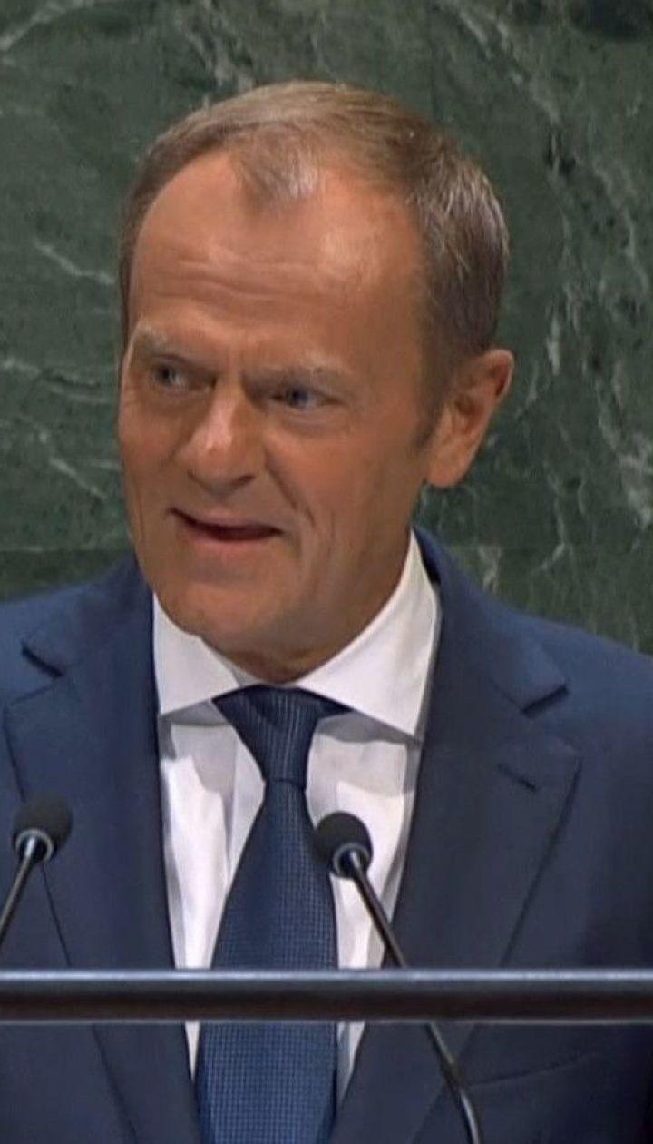 Не флиртовать с диктаторами и больше помогать Украине призвал Дональд Туск