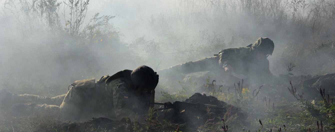 Ситуация на Донбассе. Снайперы боевиков обстреливали украинские позиции