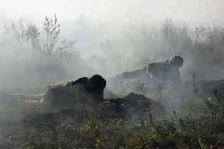 Вблизи Марьинки боевики накрыли минометным огнем весь участок передовой