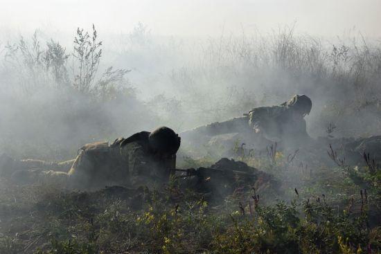Поблизу Мар'їнки бойовики накрили мінометним вогнем всю ділянку передової