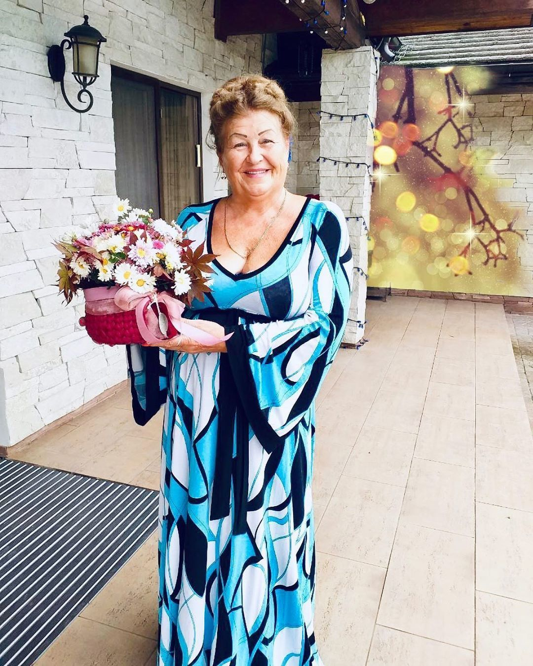 Ірина Білик, матір