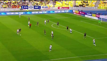 Динамо - Днепр-1 - 1:0. Видео гола Вербича