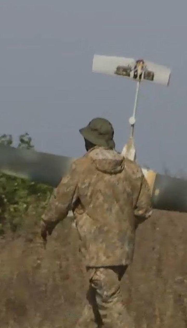 """Ударный """"беспилотник"""", сделанный в Украине, наносит удары по позициям так называемой ЛНР"""