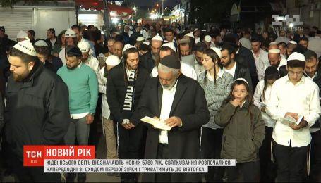 Понад 25 тисяч юдеїв з'їхались до Умані на святкування Нового року