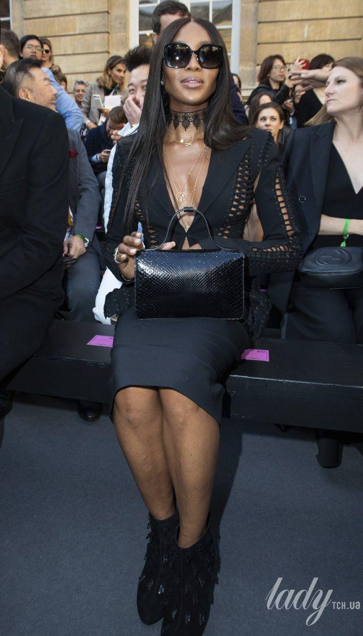 Наоми Кэмпбелл на показе  L'Oreal