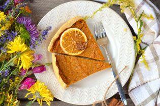 Пряный тыквенный тарт