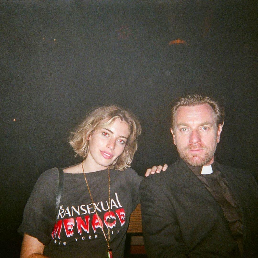 Еван МакГрегор з донькою
