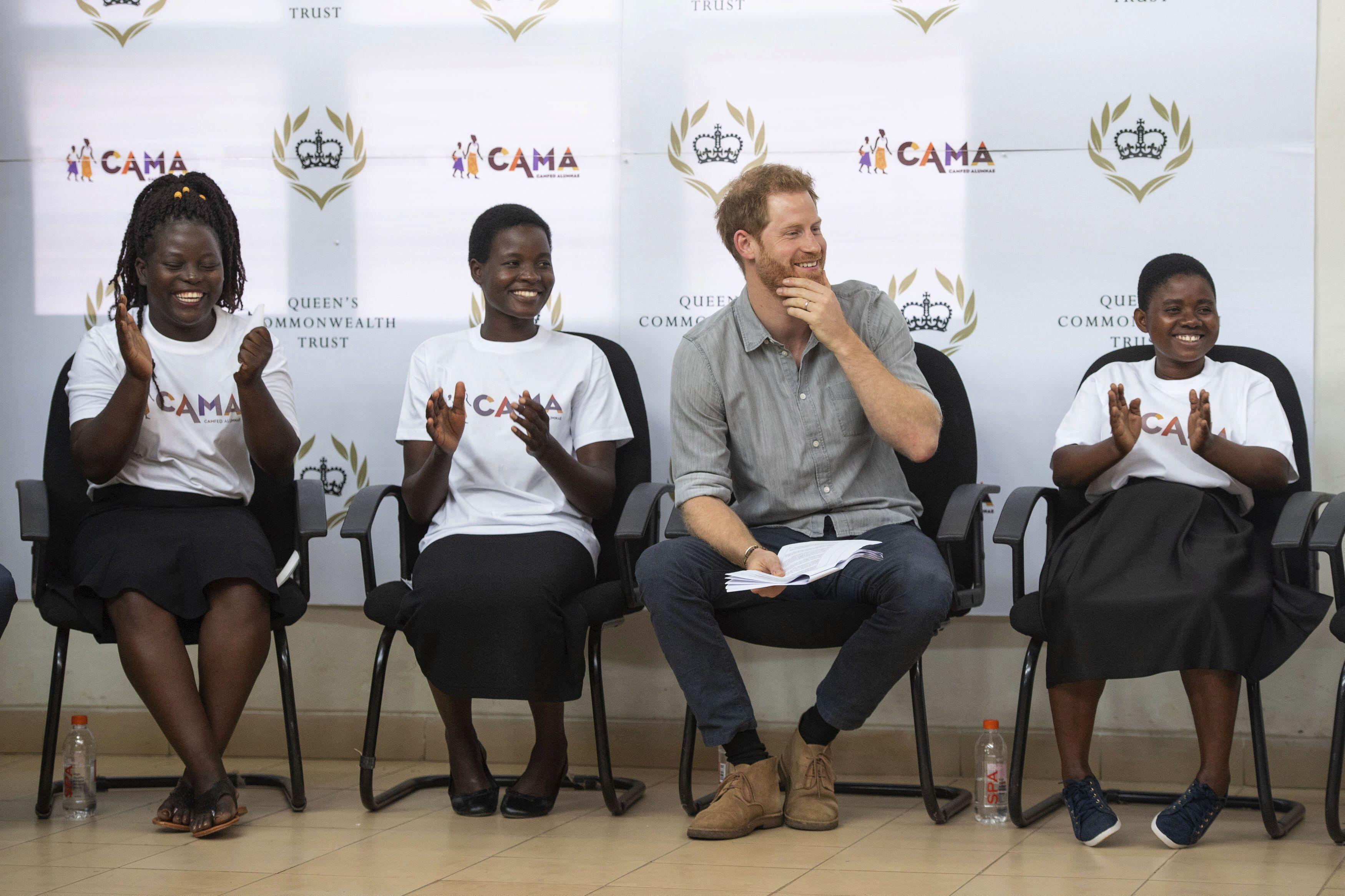Принц Гаррі в Малаві