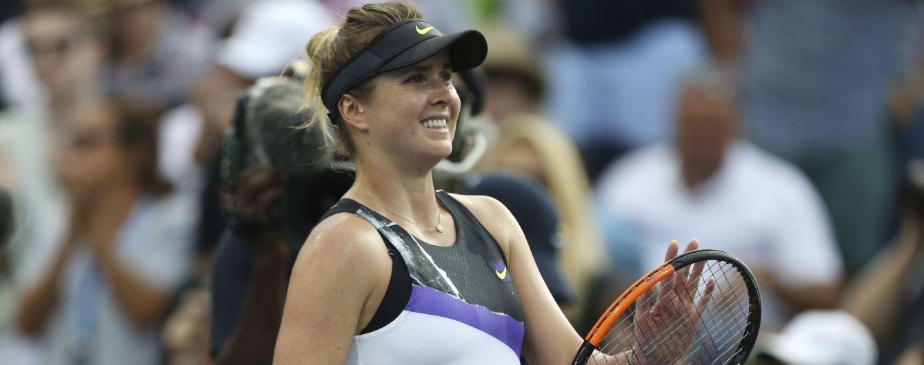 Свитолина обыграла китаянку на турнире в Пекине и вышла в третий круг