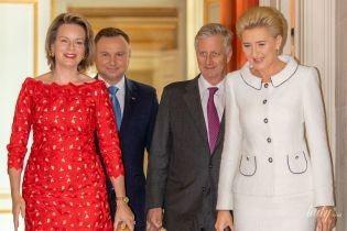 Затмила первую леди Польши: королева Матильда на мероприятии в королевском дворце