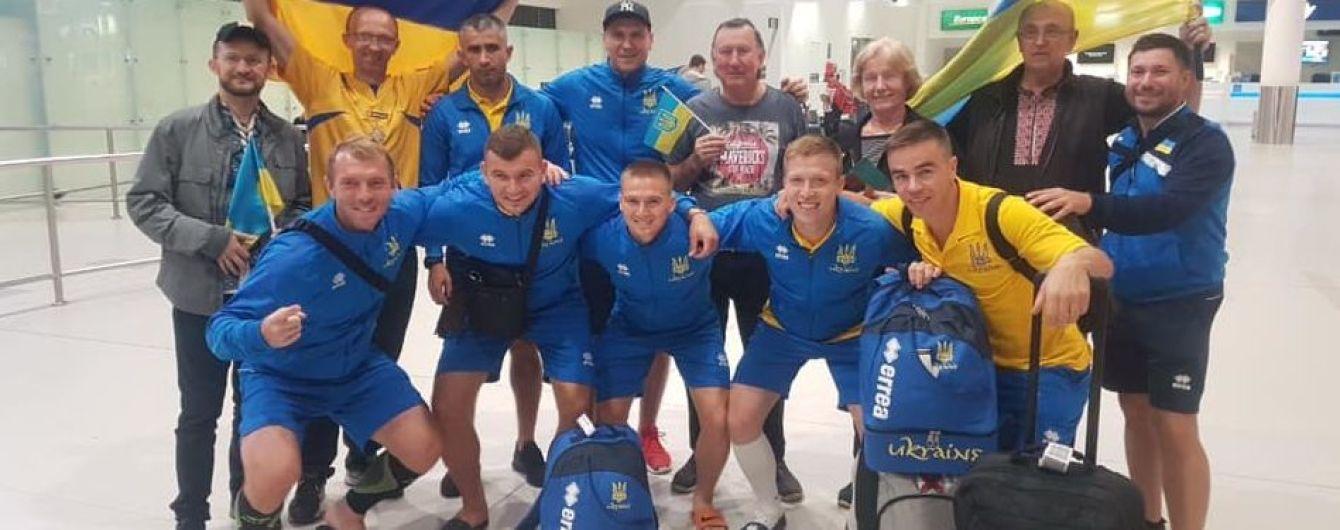 Чемпіонат світу з мініфутболу. Збірна України прилетіла до Австралії у неповному складі, лише 8 гравців отримали візи