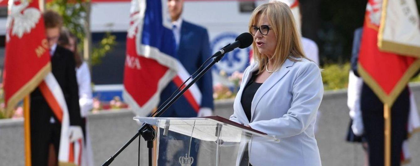 Віцеспікерці Сейму Польщі Госевській, яка активно підтримувала Україну, заборонили в'їзд до РФ