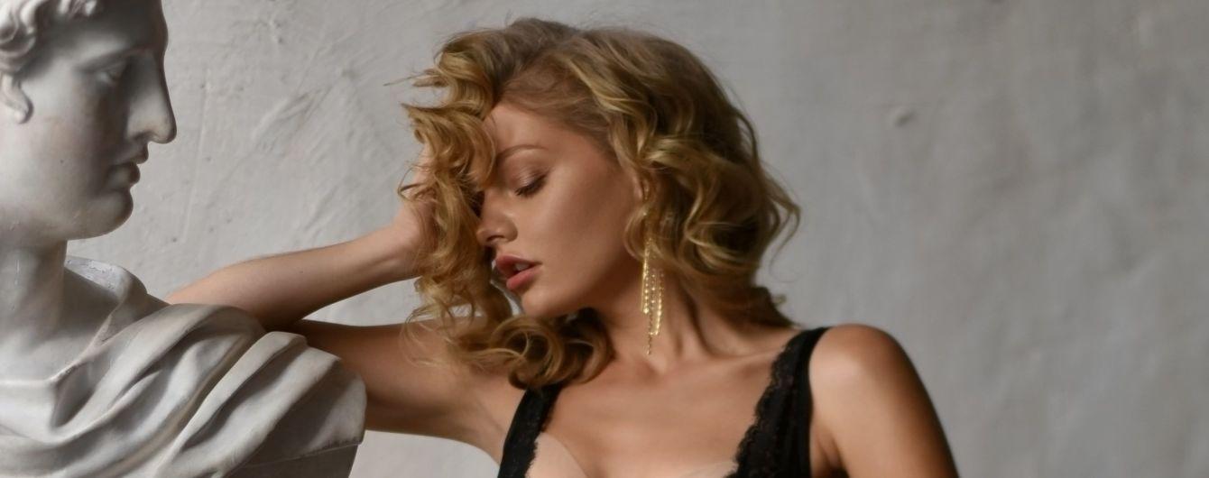 Красиво и сексуально: кружевные комплекты и ажурные бюстье в лукбуке новой коллекции украинского бренда