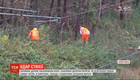 Три человека погибли из-за непогоды в Центральной Европе