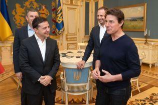 Зеленский встретился с Томом Крузом и обсудил будущие проекты