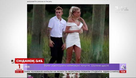 Джастин Бибер отгулял свадьбу с моделью Хейли Болдуин