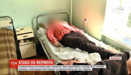 Правоохоронці затримали двох чоловіків, підозрюваних у нападі на 57-річного фермера