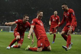 """Лига чемпионов. """"Бавария"""" в Лондоне забила семь мячей в ворота """"Тоттенхэма"""""""