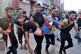 В Іраку спалахнули антиурядові протести: двоє загиблих, сотні поранених