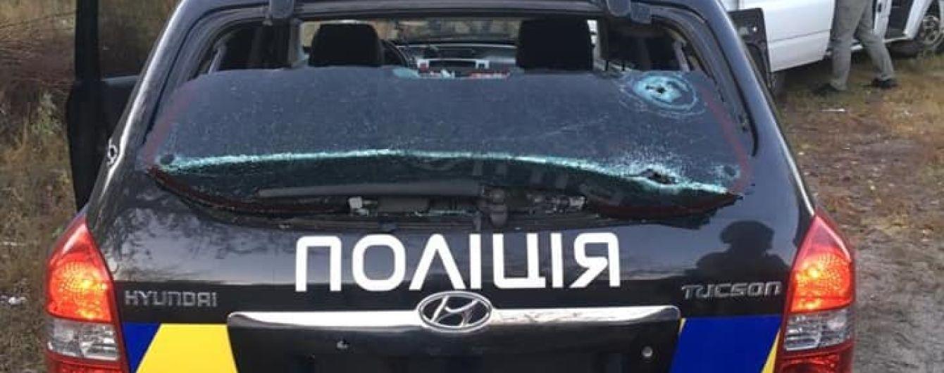 Под Киевом полиция ликвидировала бандита, который устроил стрельбу и ранил четырех правоохранителей