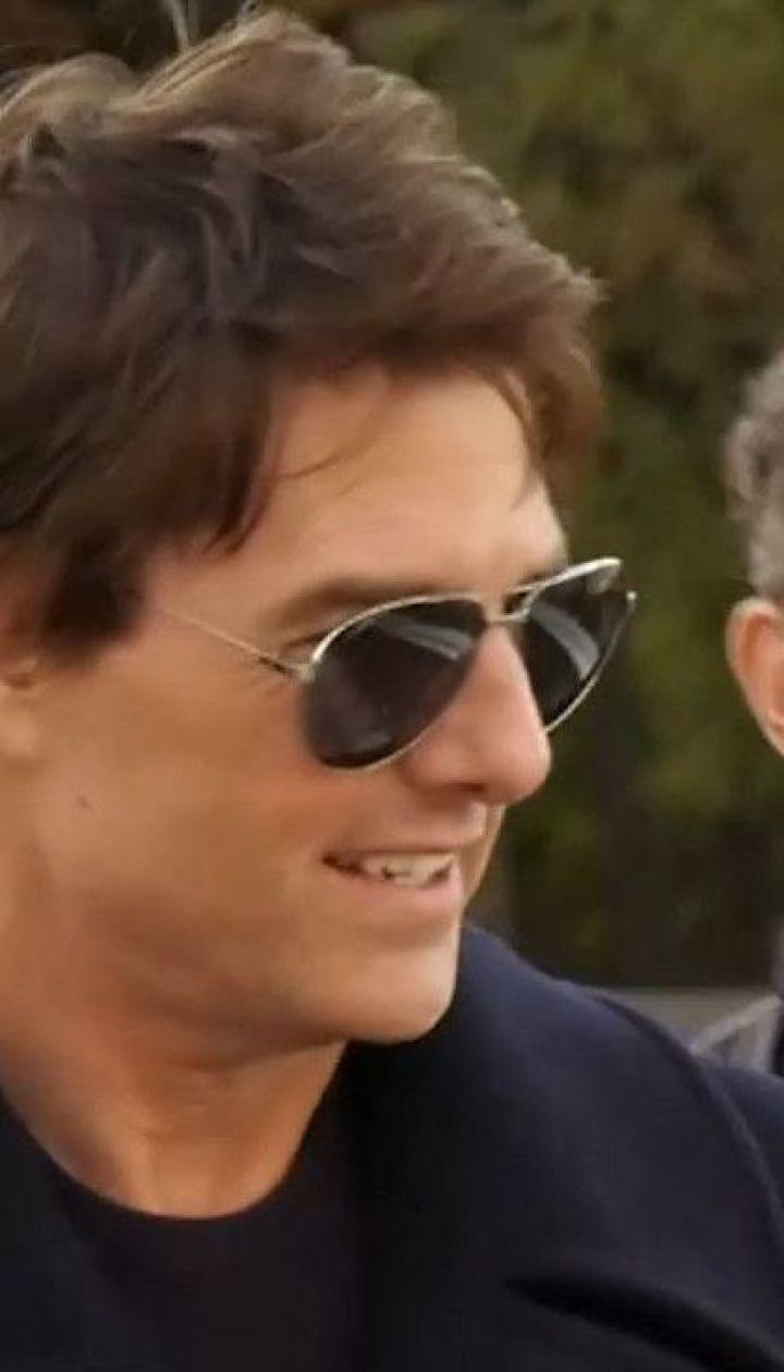 Після відвідин столиці голлівудський актор Том Круз полетів до Одеси