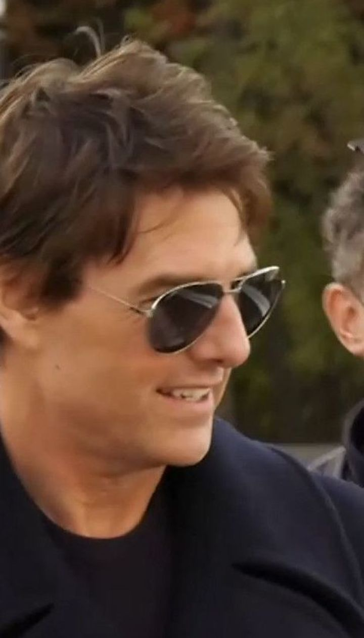 После посещения столицы голливудский актер Том Круз полетел в Одессу