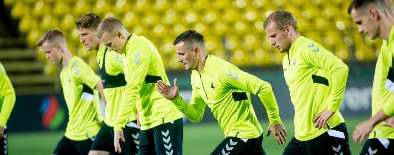 Сборная Литвы огласила заявку на матч отбора к Евро-2020 против Украины