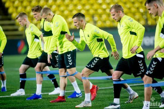 Збірна Литви оголосила заявку на матч відбору до Євро-2020 проти України