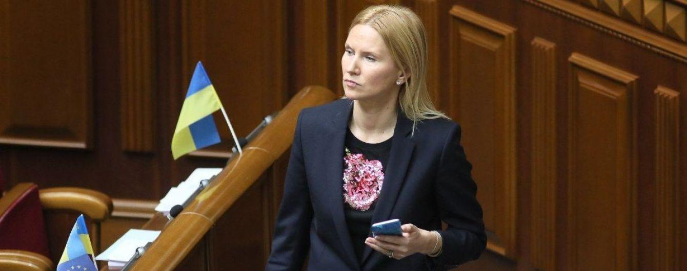 """Заступниця голови Ради прокоментувала """"формулу Штайнмаєра"""" та закликала владу пояснити людям її зміст"""