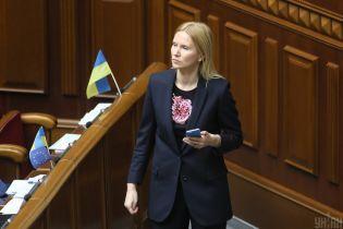 """Замглавы Рады прокомментировала """"формулу Штайнмайера"""" и призвала власть объяснить людям ее содержание"""