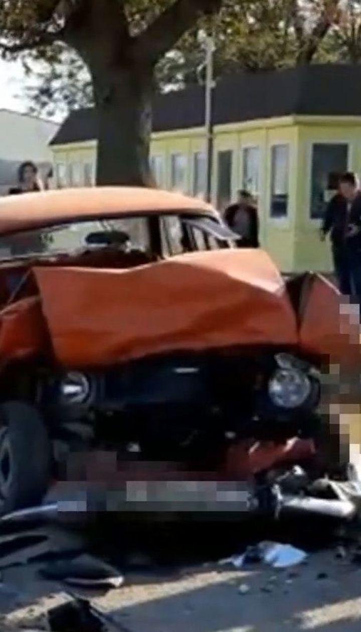 В Одесской области подросток на отцовском Mersedes совершил смертельное ДТП