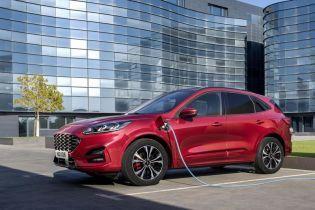 Гибрид Ford Kuga пустят в продажи за 36 тысяч евро