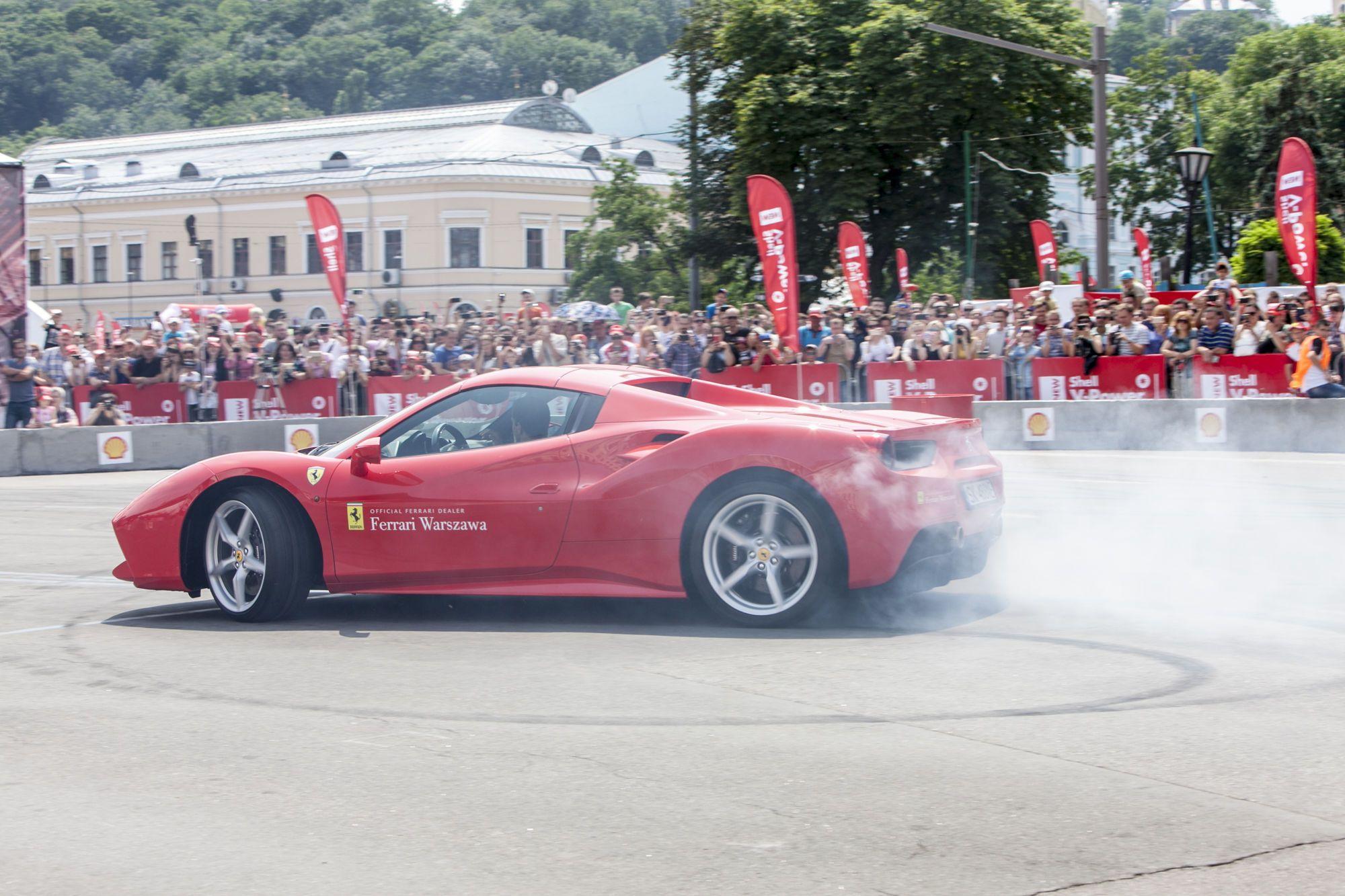 Shell_Scuderia Ferrari _реклама