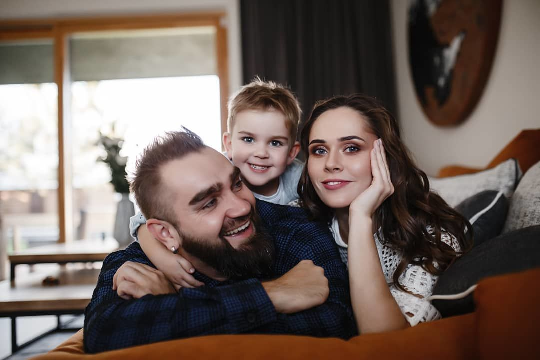 Юлія Саніна з чоловіком та сином_3