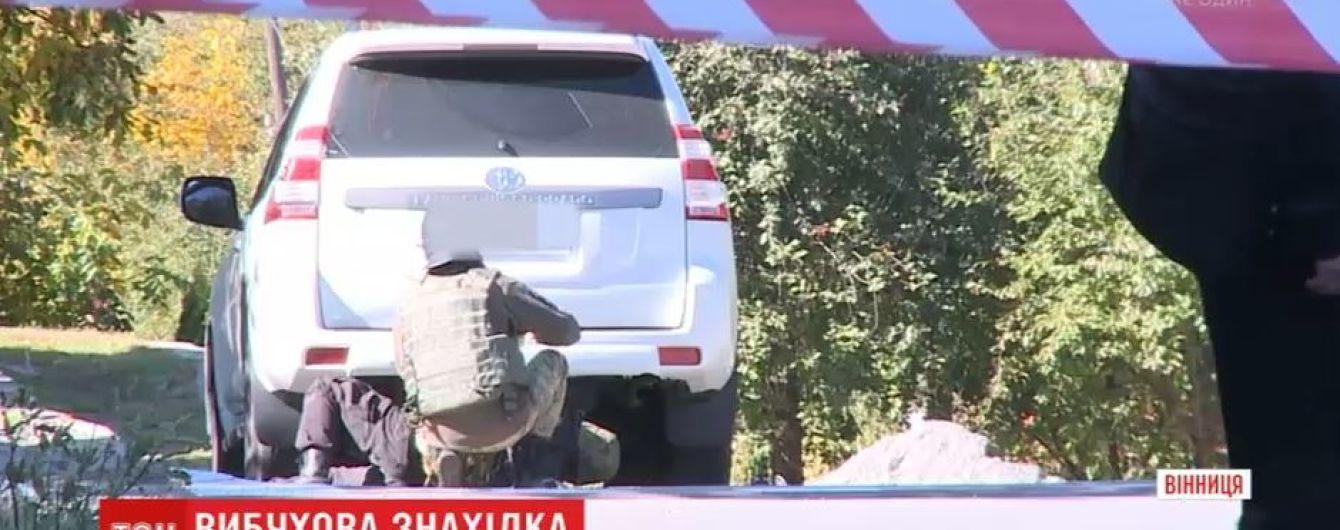 Работники СТО в Виннице случайно обнаружили гранату в запасном колесе внедорожника