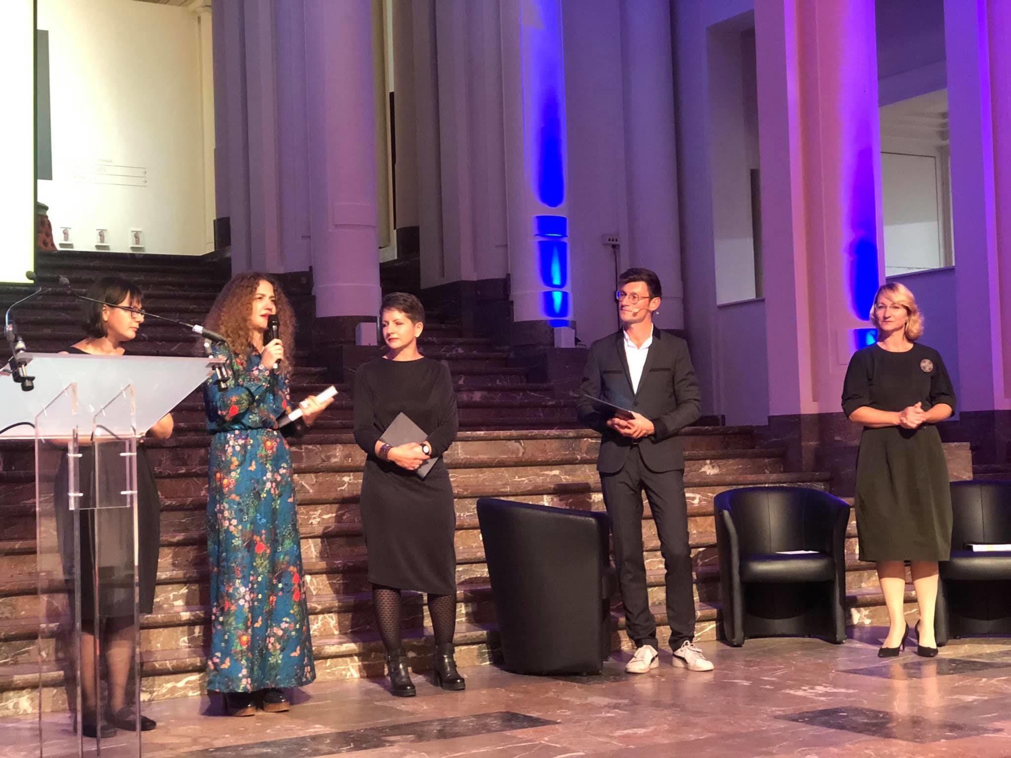 Гаська Шиян перемогла European Union Prize for Literature 3 жовтня 2019
