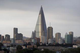 """330-метровая бетонная пирамида. Почему отель в центре Пхеньяна называют """"Отелем смерти"""" и """"самым страшным зданием в мире"""""""