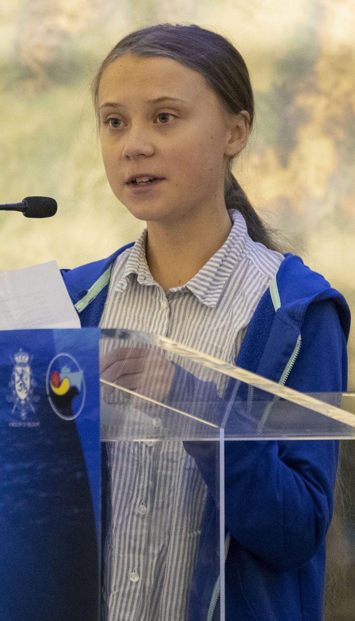 Екологічна активістка Ґрета Тунберґ