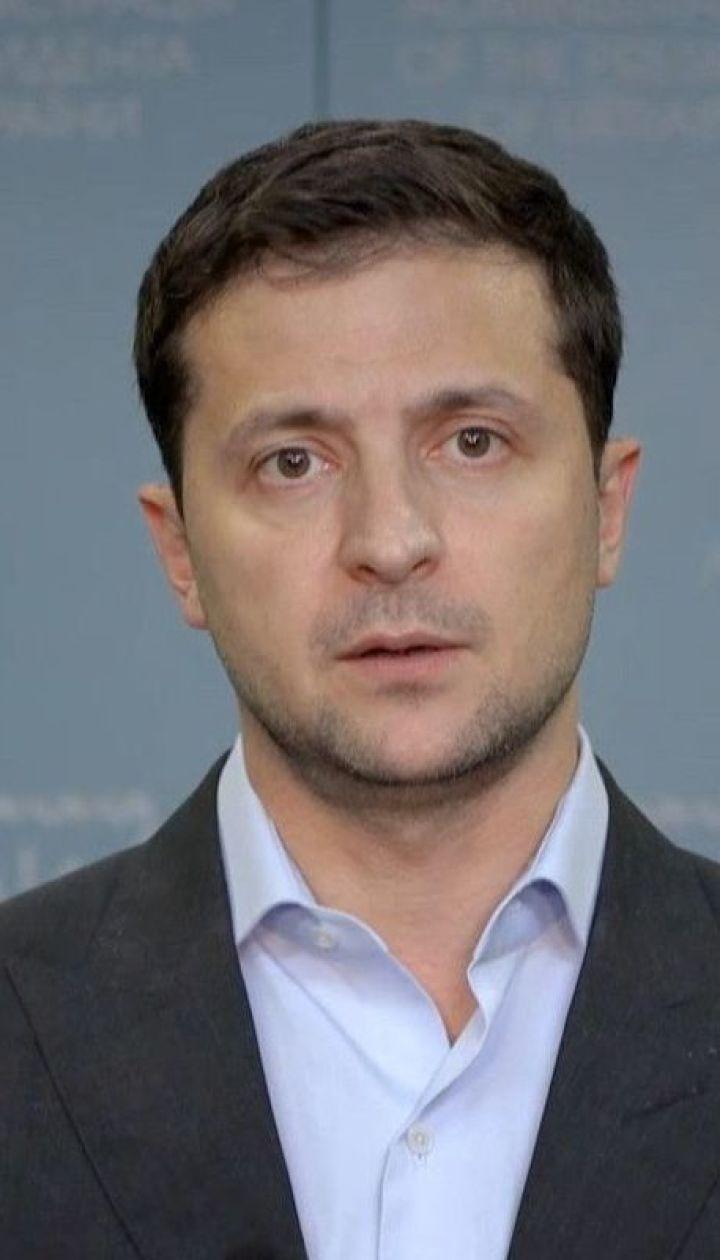 """Зеленский в видеообращении к украинцам объяснил, почему в """"формуле Штайнмайера"""" нет угрозы"""