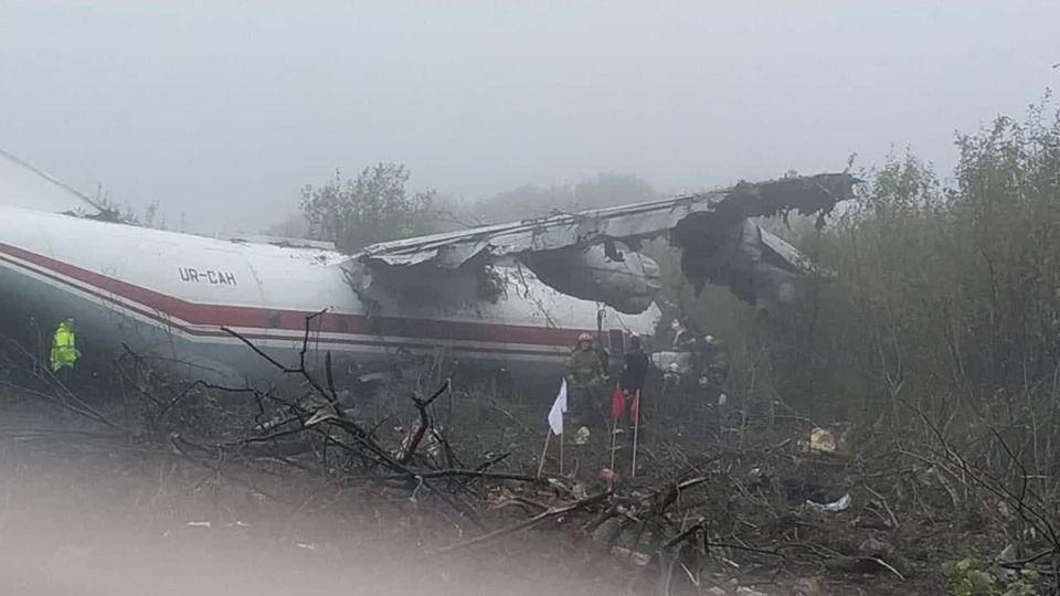 аварійна посадка літака біля львова