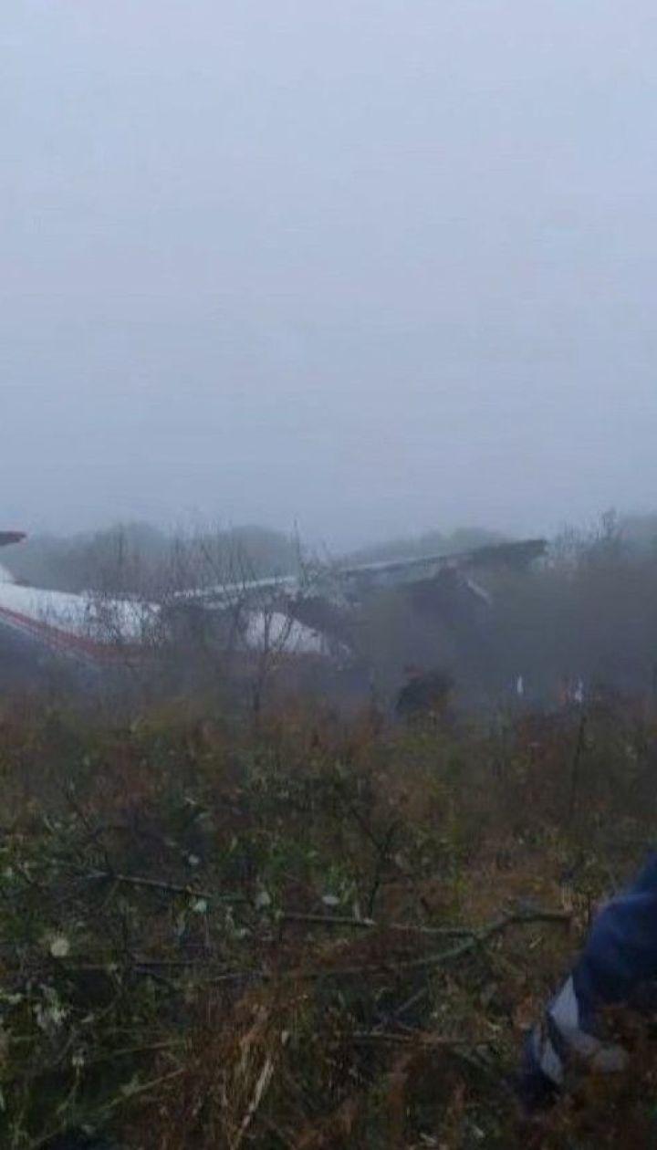 Грузовой самолет совершил аварийную посадку во Львовской области
