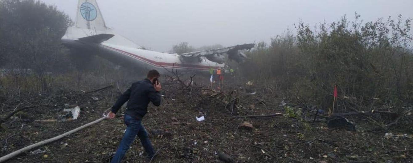 Аварийное приземление самолета возле Львова: погибли пять человек, есть раненые