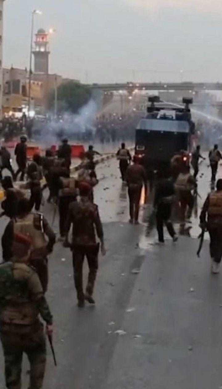 Силовики открыли огонь по протестующим в Ираке: 31 человек погиб, 4 тысячи ранены
