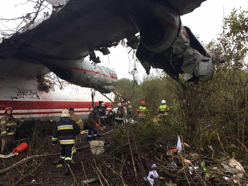 аварія транспортного літака Ан-12 біля Львова