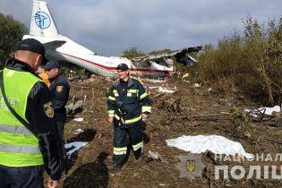 Стала известна предварительная версия падения самолета на Львовщине