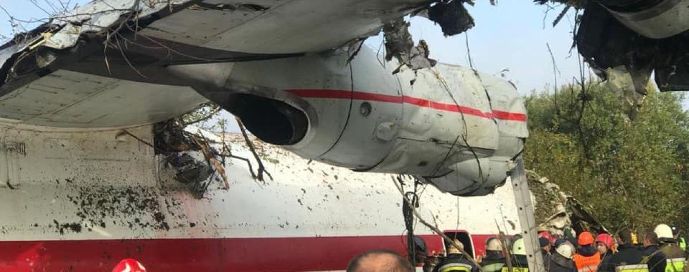 Гончарук заявив, що аварію літака Ан-12 біля Львова вже розслідують