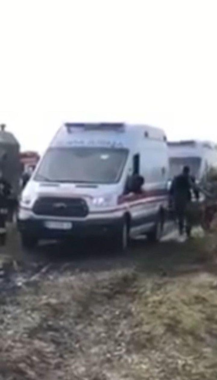 Падение самолета под Львовом: в каком состоянии пострадавшие