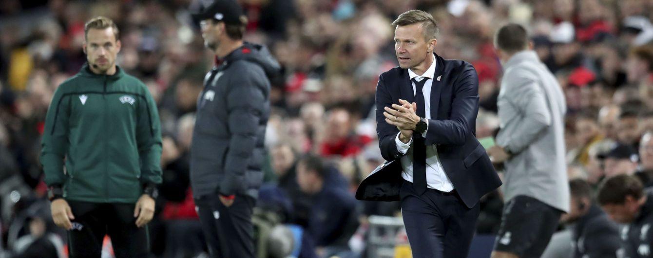 """З'явилося відео, як тренер потужно і з матюками мотивував """"Зальцбург"""" перед камбеком з """"Ліверпулем"""""""