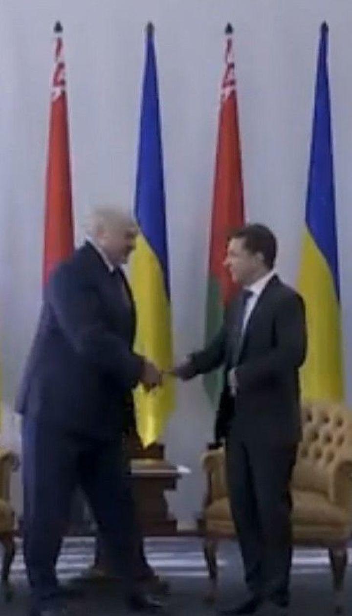 Зеленський та Лукашенко провели зустріч у Житомирі