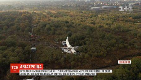 Стала известна предварительная версия крушения самолета на Львовщине